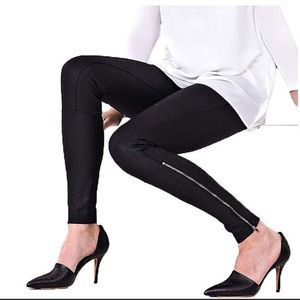Lysse Simone Gloss Zip High Waisted Leggings